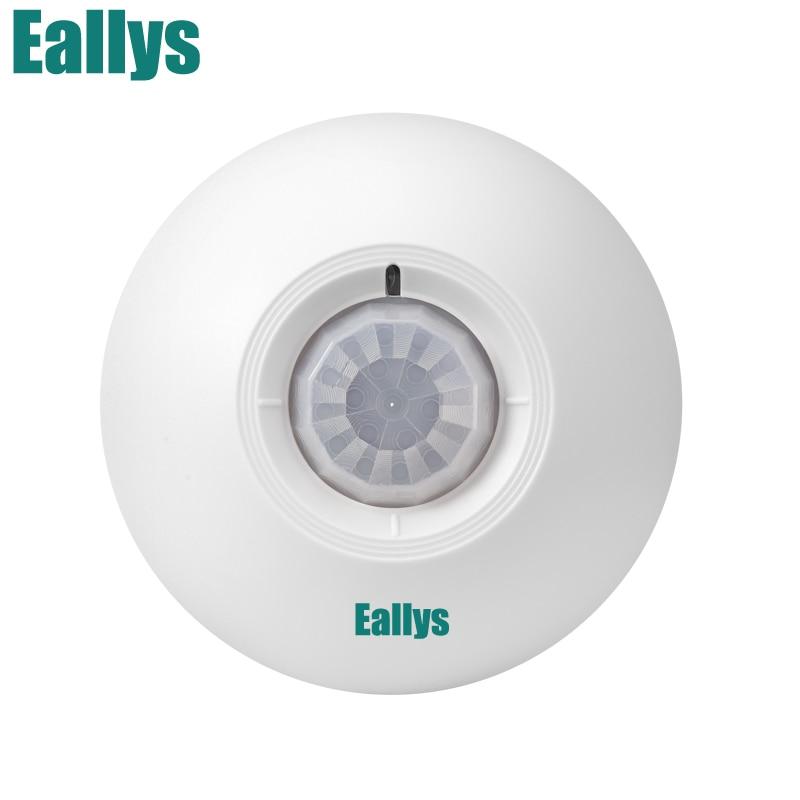 Wireless Ceiling PIR IR Pasive Motion Sensor Detector 433MHz 360 Degree Detecting for Alarm System