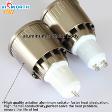 Gu10 Led Spotlights 2W 3W 5W SMD2835 Lamp Cup 9W 12W 15W Cob Led Lamp AC 110V 220V 240V Led Bulb Warm Cold White Led Light