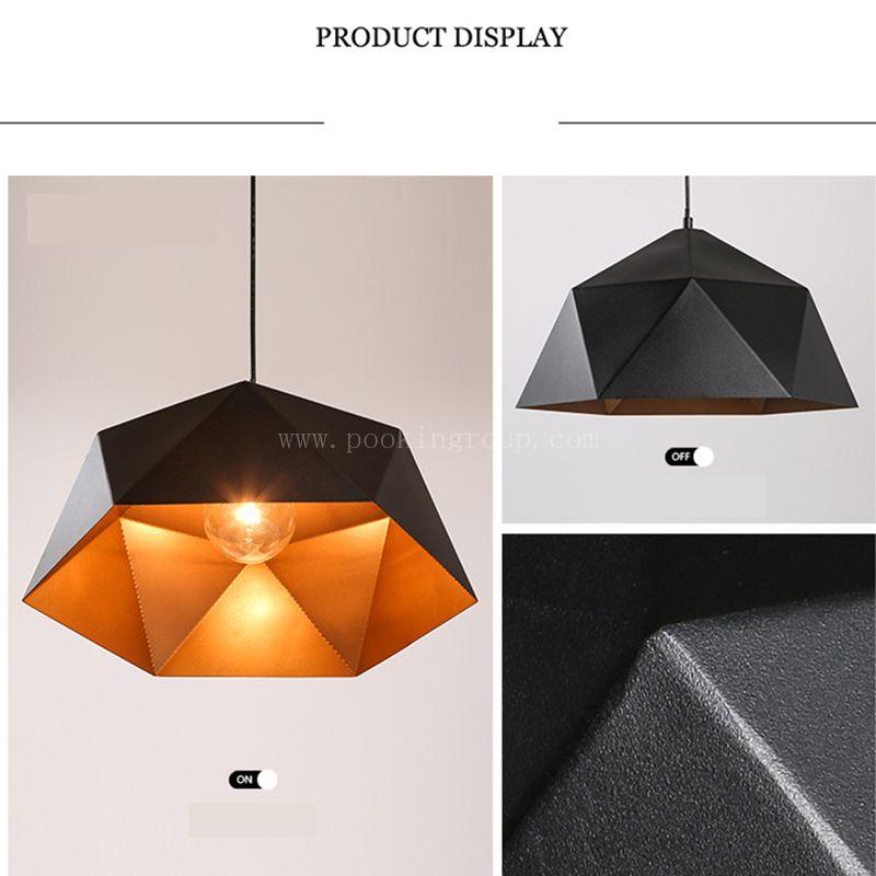 NEW Nordic modern minimalist restaurant chandelier creative single head stereo LED RETRO lamp цена