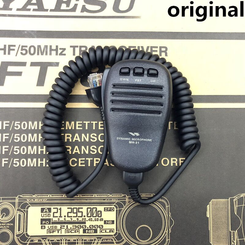 Microphone MH 31 For YAESU FT 817ND FT 857D FT 897D FT 450D FT 900 AT