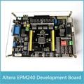 Altera EPM240 CPLD Junta de Desarrollo Junta multifunción + Blaster USB con AD DA Paso A Paso Motor Receptor de Infrarrojos