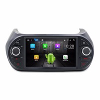KLYDE 7 1 Din Android 8.1 8 Core 1024*600 Car Radio For Fiat Fiorino 2008 Audio Stereo Car Multimedia Player