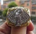 Frete Grátis alta qualidade 2002 Tampa Bay Buccaneers Super Bowl Championship Anel National Football League Gems sólida wholsesale