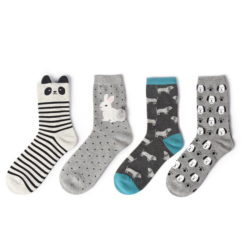 13 COLOR TO CHOOSE men and women funny spring summer atumn winter socks crew animals lovely cotton Breathable Comfortable socks