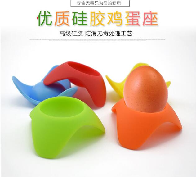 Aliexpress.com : Buy Creative Kitchen Products Food Grade Silicone Egg  Holder From Reliable Silicone Egg Holder Suppliers On LX HOME STYLE STORE