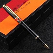 Picasso 923 BRAQUE Roller Ball Pen mit Tinte Refill, glück Drei Farbe Geschenk Box Optional Büro Business Schule Schriftlich Geschenk Stift