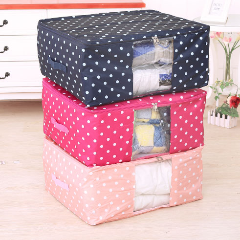 Quilt Storage Bags Travel Organizer Bag Fordable Clothes Bedding Storage Bag Home Wardrobe Storing Accessories Supplies Products