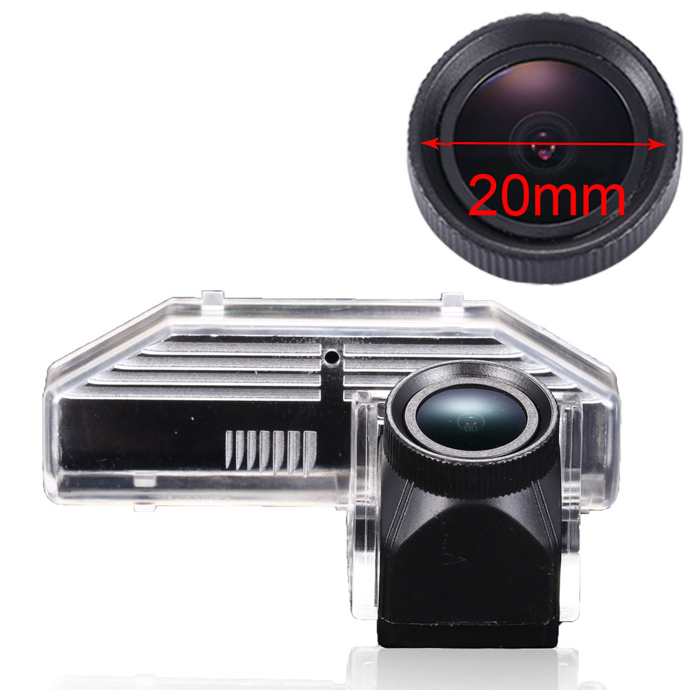 Night vision HD CCD 1280*720 pixels 1000TV 20mm lens backup rear view car camera for Mazda 6 RX 8 RX8 Atenza M6 2003 2012