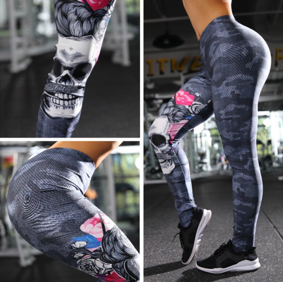 Damen Sports Yoga Gym Skinny Hosen Leggings Jogging Fitness Hose DE 34-38 Gut