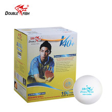 100x двойные рыбки V+ 40 40 мм белые настольные теннисные мячи для мячик для пинг-понга