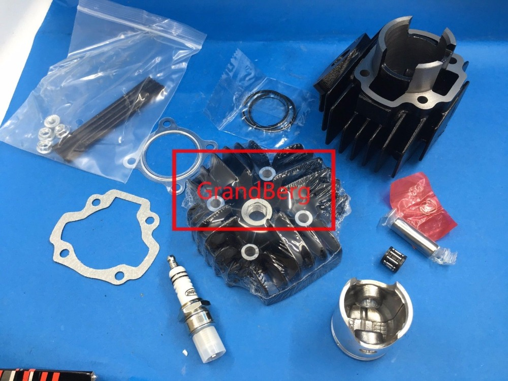 SHERRYBERG PW 50 PW50 QT50 CYLINDER HEAD PISTON GASKET KIT fit for YAMAHA PW50: 1981-2009 Q laidong km4l23bt for tractor like luzhong series set of piston groups with gaskets kit including the cylinder head gasket