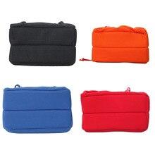 Maha câmera dslr slr à prova de choque, partição de bolsa de câmera acolchoada, faça seu próprio saco de câmera (preto/laranja/azul/vermelho)