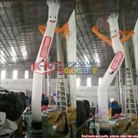 Customized Cartoon Sky Air Dancer Model Inflatable Advertising Dancing Man