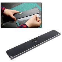 Règle de coupe en caoutchouc à bande plate avec échelle, catapulte universelle multifonctionnelle, accessoires de coupe