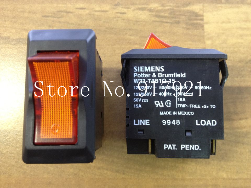 [ZOB] original original W33-T4B1Q-15 circuit breaker 2P15A 250V GENUINE NEW  --5pcs/lot[ZOB] original original W33-T4B1Q-15 circuit breaker 2P15A 250V GENUINE NEW  --5pcs/lot