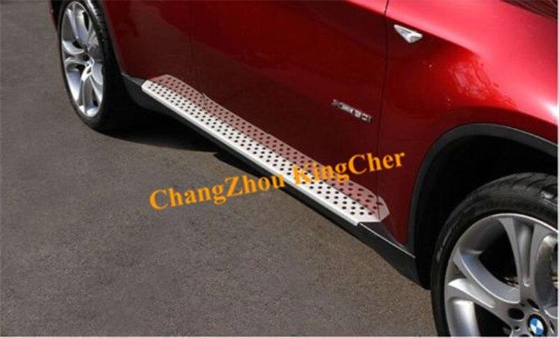 Алюминий подножка Nerf подходит для BMW X6 E71 2009 2010 2011 2012 2013