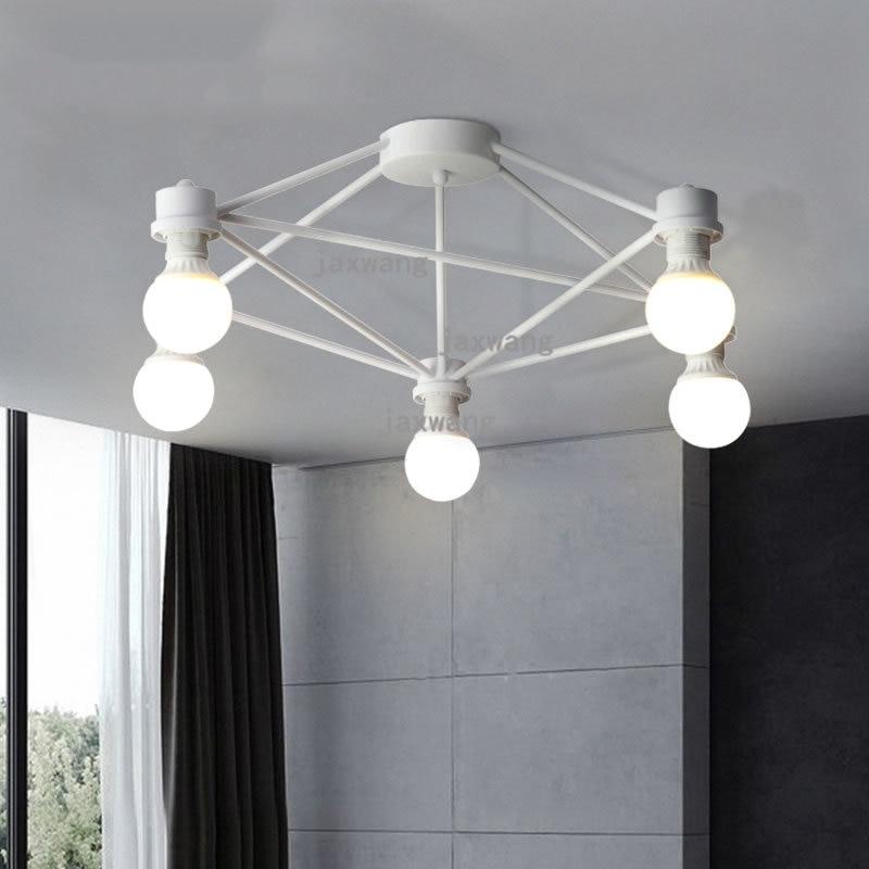Nordic Simple ceiling light Living Room Roof avize ceiling lamp Studio Dining Room Individual Main Bedroom lampara techo