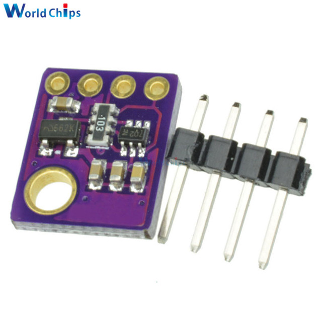 3In1 BME280 GY-BME280 Digital Sensor SPI I2C Humidity Temperature and Barometric Pressure Sensor Module 1.8-5V DC High Precision