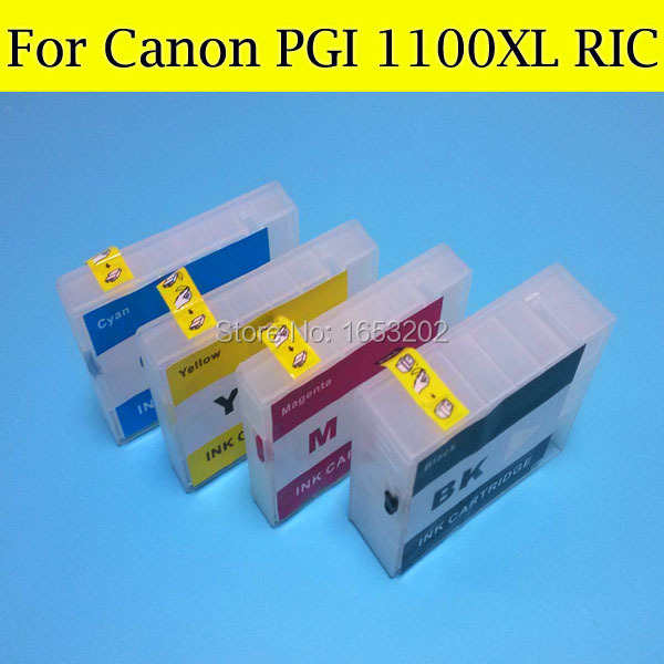 ФОТО EMPTY PGI1100XL PGI1100 Ink Catridge compatible for Canon PGI 1100 PGI-1100XL stlyus for canon MB2010 printer