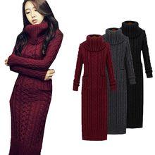 Европа и США зима Новый конопли цветок с высокой горловиной свитер Длинные рукава из вязаный свитер Длинные рукава женщина