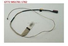 จอแอลซีดีLVDSหน้าจอสายสำหรับMSI GS70 MS1772 UX7 K1N 3040011 V03 30PIN EDP/GT72 MS1781 1782 EDP K1N 3040023 H39ใหม่และเดิม