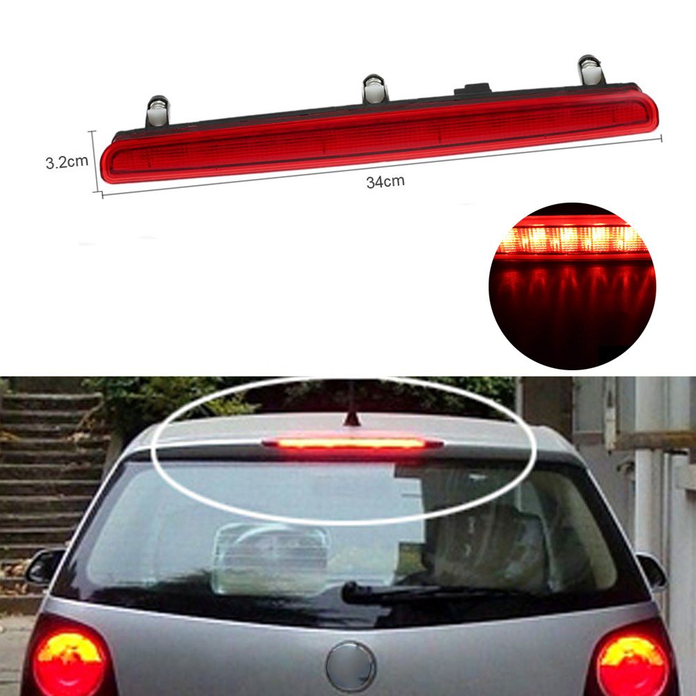 new styling 3rd centre high level additional light led for vw transporter multivan caravelle bus t5 car taillight auto lamps [ 1000 x 1000 Pixel ]