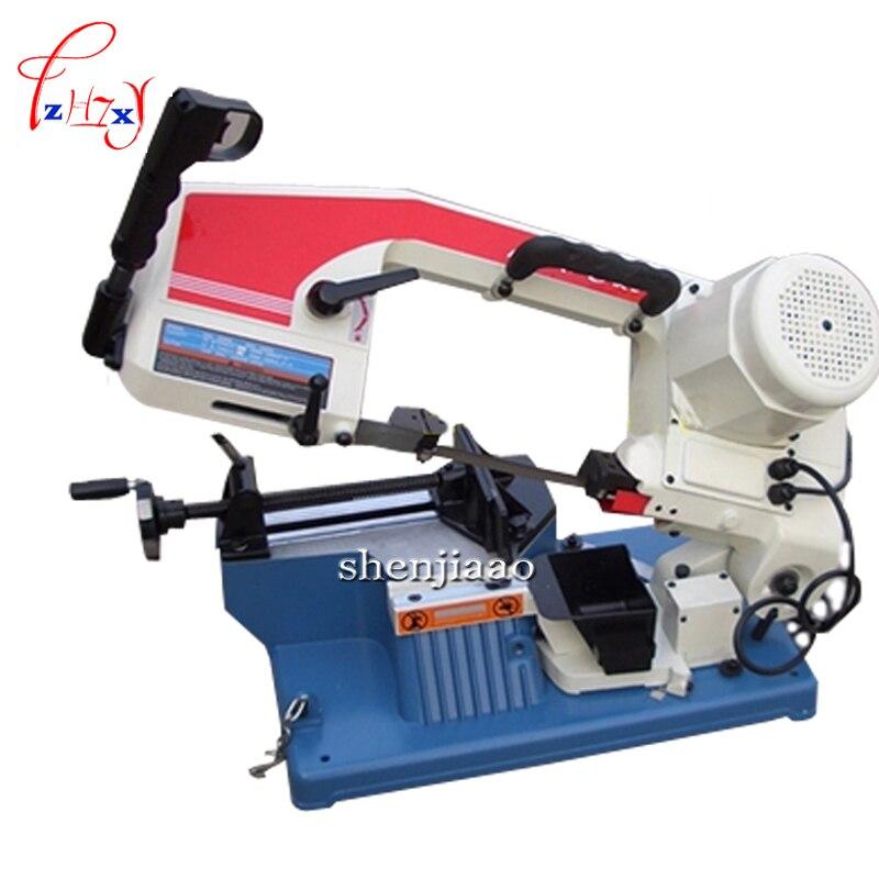 220 V scie à ruban en métal petites scies de bureau 375 W scies à main Machine à faible bruit avec manuel anglais 1 PC
