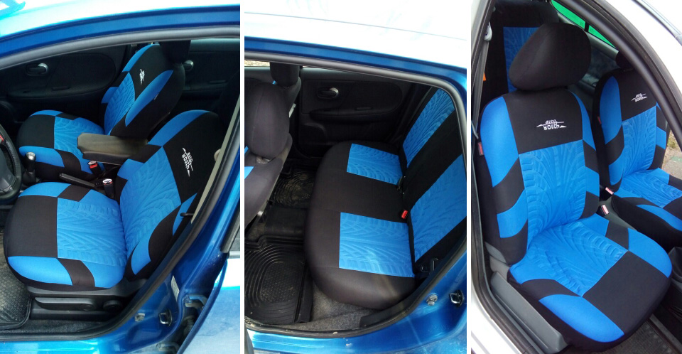 Embroidered Universal Car Seats 14