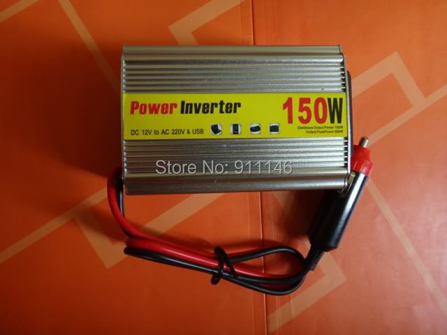 Car inverter 150w 12v 220v car power converter booster belt