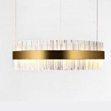 LODOOO Modern LED Light lamp Simple crystal Light lamp For Foyer Dining parlour Room Restaurant Decoration