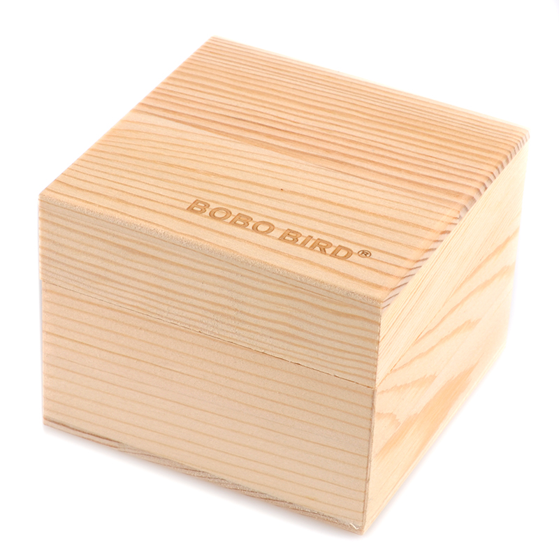 BOBO BIRD Blank Bamboo Wooden Box for Watch/Watch And Jewellery Boxes ben and bobo