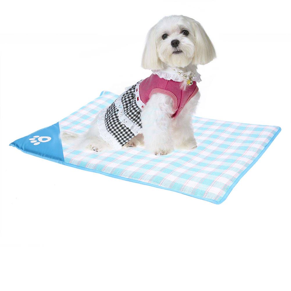 New Cooling Mat for dogs pet mats summer cooling dog woven ...