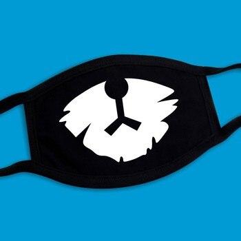 2019 Explosion Modelle Staubdicht Warme Unisex Schwarz Maske Hohe Qualität Baumwolle Mehrere Muster Reusable 3 Schichten