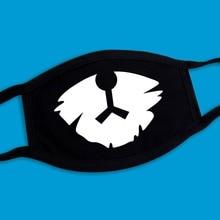2019 Explosion Models Dustproof Warm Unisex Black Mask High Quality Cotton Multiple Patterns Reusable 3 Layers