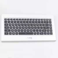 64GB Quoad Small PC Keyboard All In One Windows 10 Desktop Support 1080P Display X86 Mini PC with aluminum case