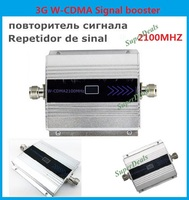 Best Price 3G Mini W CDMA Signal Booster 2100Mhz 3G Signal Repeater WCDMA Signal Amplifier Cell