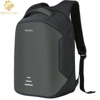 HUIMENG Brand 2017 New Design Men Backpack Anti Theft External USB Charge Port For 16 Inch
