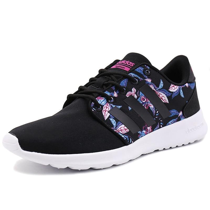 Original Adidas NEO Label CLOUDFOAM QT RACER W Women's Skateboarding Shoes Sneakers