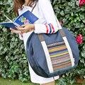 Nueva Moda bolsos de hombro de Nylon de Las Mujeres hangbag Bolsas Para Niñas bolsas de equipaje de Viaje Ocasional de Las Mujeres de Nylon Resistente Al Agua Bolsas de capacidad