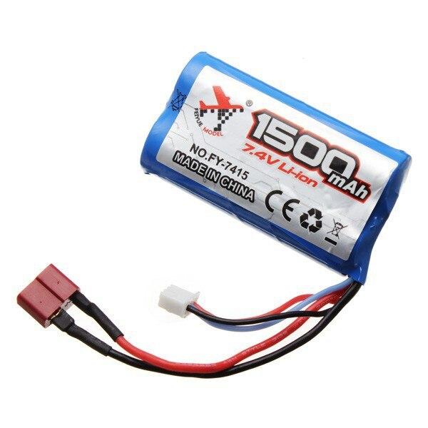 Feiyue FY01 FY02 FY03 7.4 V 1500 mAH Batterie Au Lithium FY7415