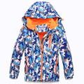 Winter Children Outerwear Warm Child Coat Sporty Kids Clothes Double-Deck Waterproof Windproof Boys and Girls Jackets For 3-14
