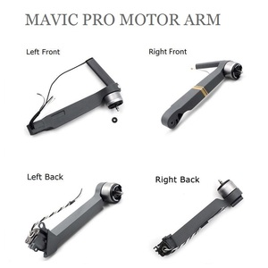 Image 1 - 100% for DJI Mavic pro Front Left/ Front Right/Left Rear/Right Rear Motor Arm for DJI Mavic pro Repair Parts Accessiories