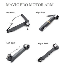 100% para el brazo del Motor DJI Mavic pro delantero izquierdo/delantero derecho/izquierdo trasero/derecho para accesorios de reparación DJI Mavic pro