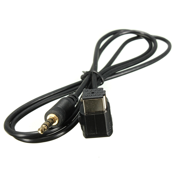 New Hot Sale 3.5mm Thickness Aux Input Cable For Pioneer Headunit IP-BUS Aux Input Adapter Cable Cor