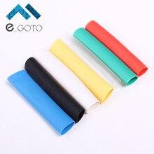328Pcs 8 Sizes Heat Shrink Tube Tubing Multi Color Polyolefin 2:1 Halogen-Free Assortment Sleeving Wrap Tubes 7 Color