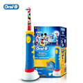 Braun Oral B Children Electric Toothbrush D10 Music Timer Rechargeable Tooth Brush Mickey Mouse for Kids Teeth Clean Ages 3+ HOT