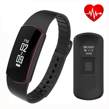 Водонепроницаемый SH09 Bluetooth 4.0 Смарт Браслет монитор сердечного ритма Sport Смарт Браслет Фитнес-Трекер PK mi группа 2 id107 P10