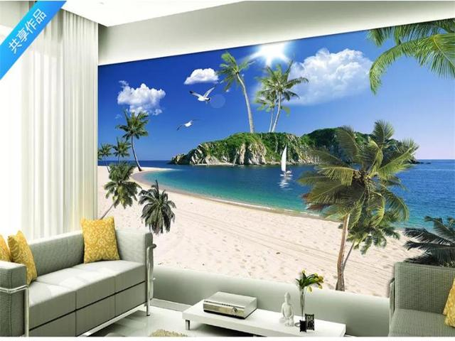 custom 3d wallpaper photo wallpaper living room background mural