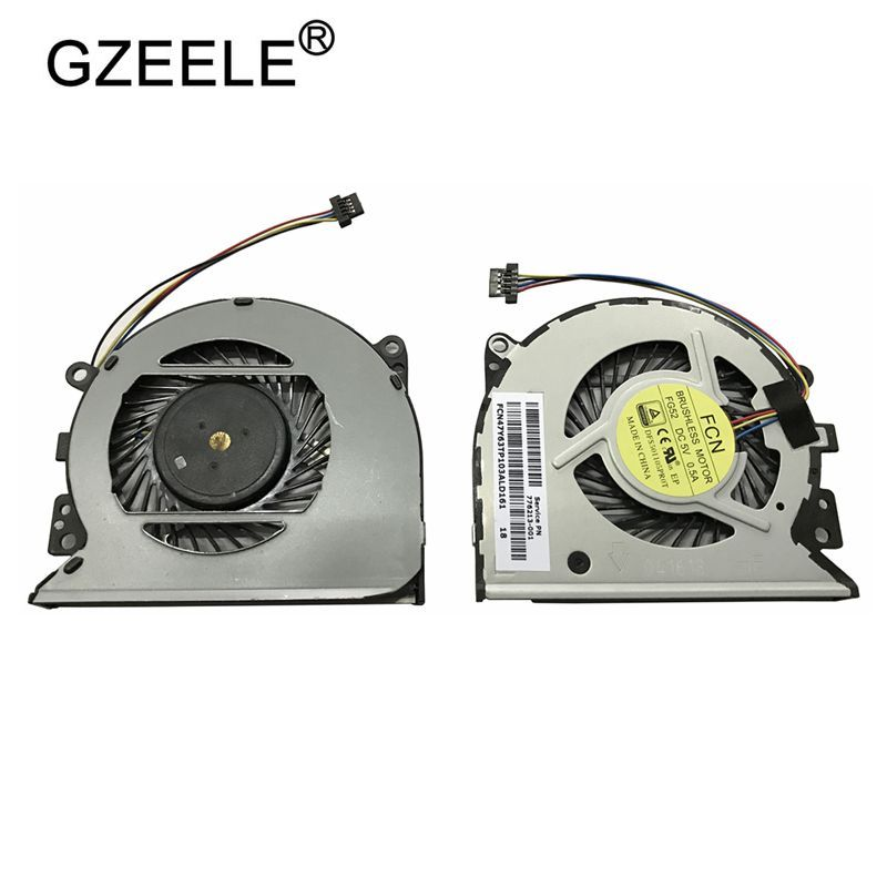 GZEELE New CPU Cooling Fan For HP Pavilion 13-A010dx X360 FOR Envy 15-U 15-U011D 15-u010dx 15-U000 15-U011D 15-U483CL TPN-Q147