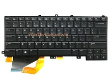 Reboto Original Brand New Laptop Keyboard for Dell Alienware 14 US Layout keyboard with backlit NSK LB0BC 0FFGJW 100% Tested